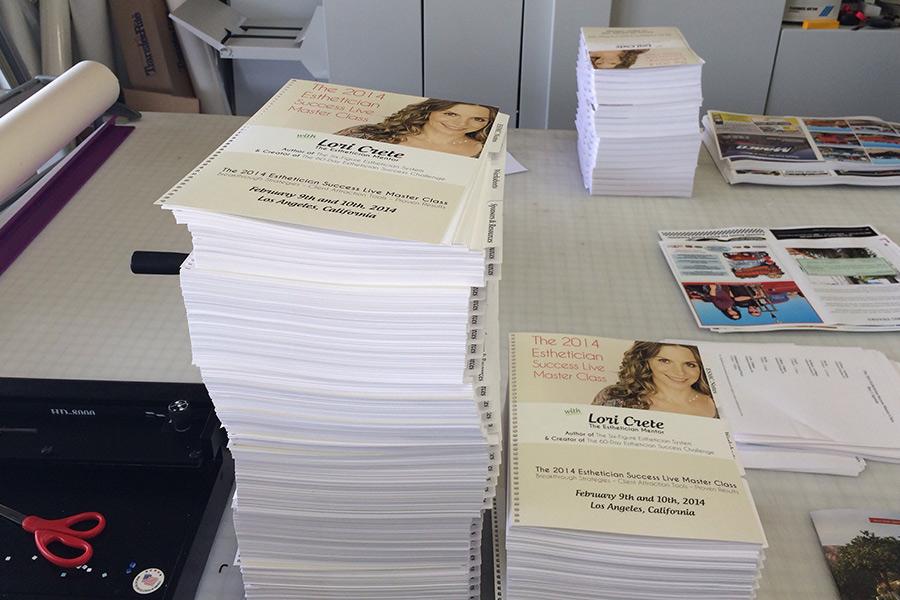 Spiral Bound Books Palm Desert Printing