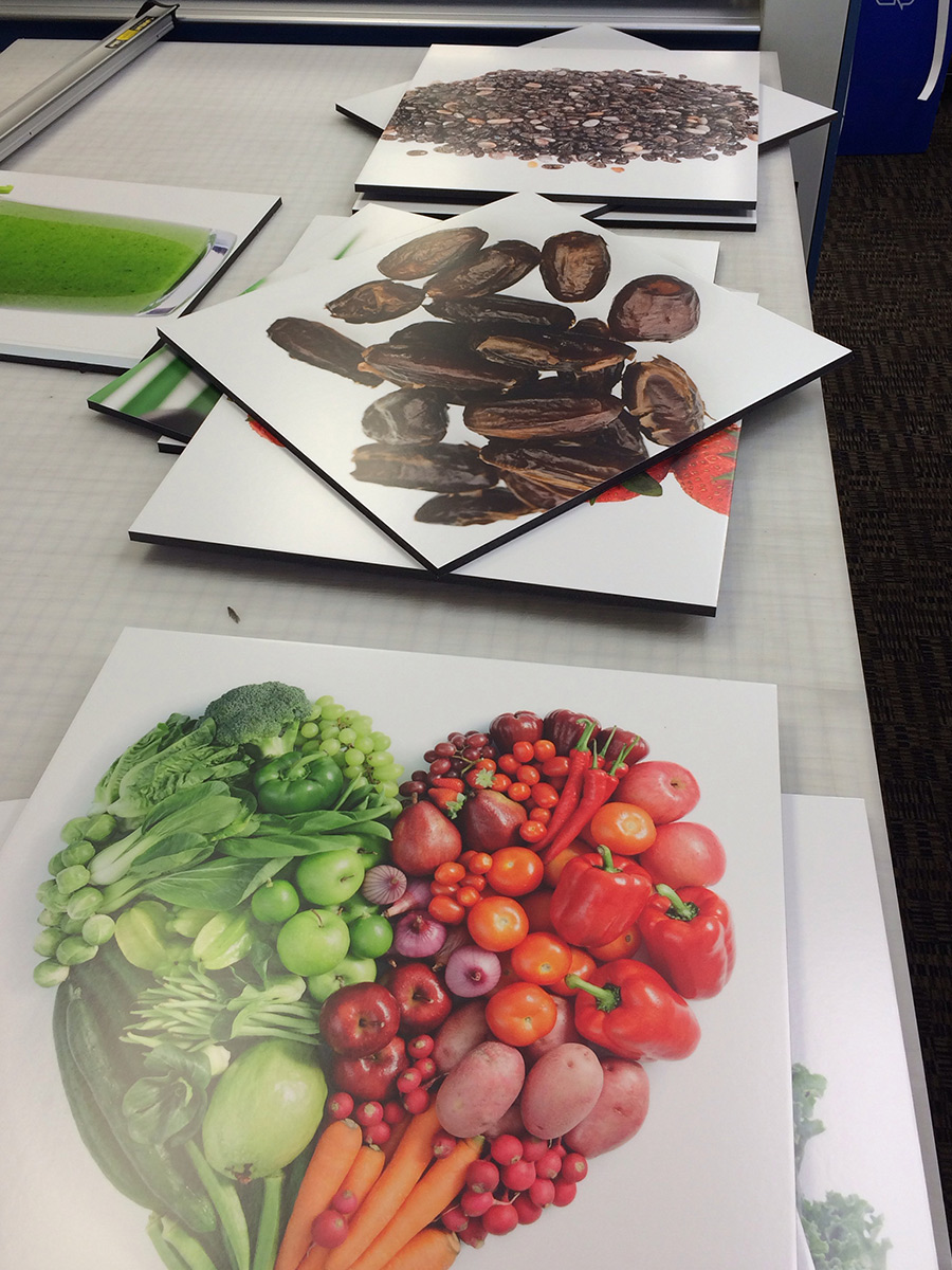 Fruit and Veggie Signage Large Format Printing Palm Desert