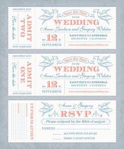 Save The Date Wedding Invitations Palm Desert printer