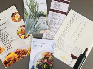 xpress graphic menu printing